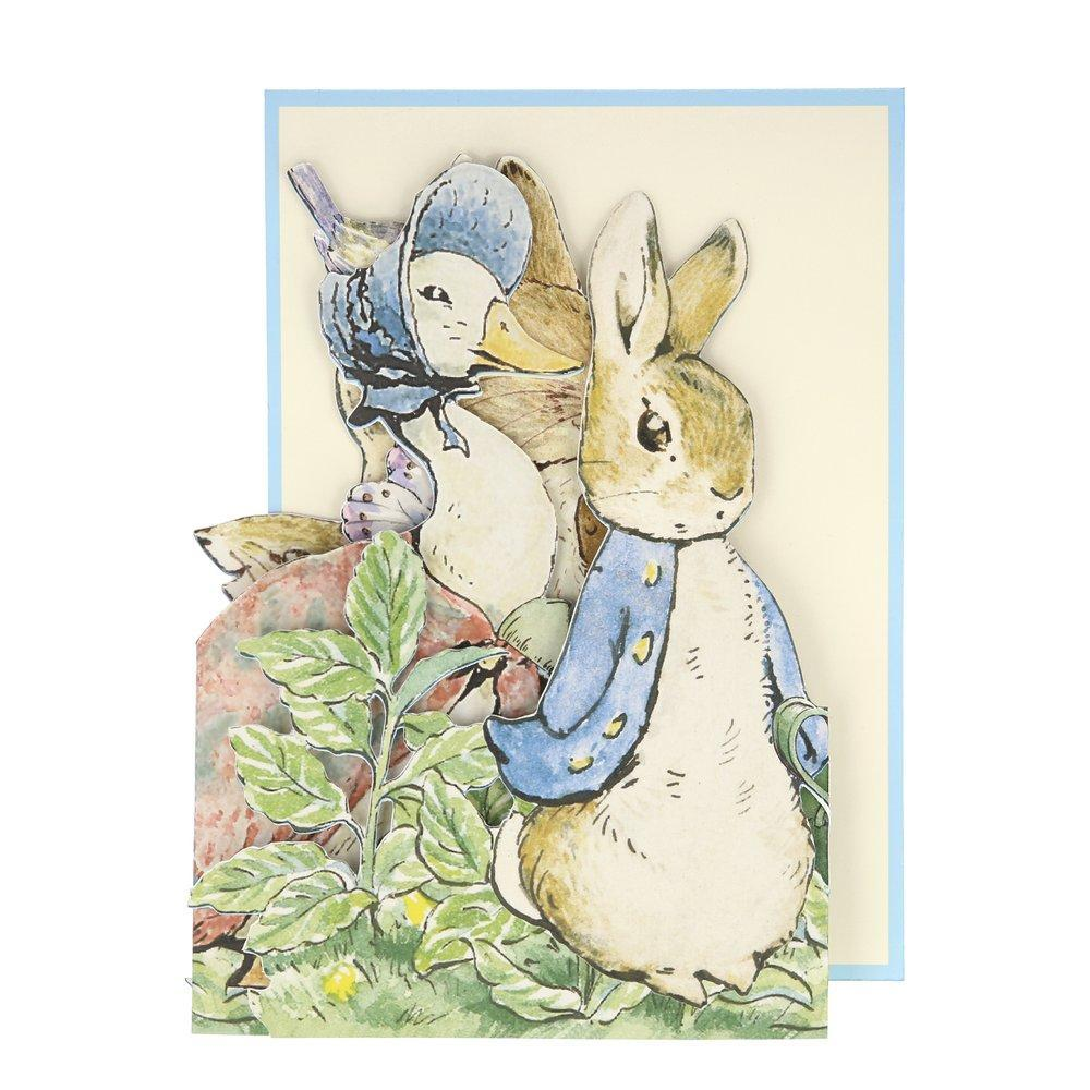 Meri Meri Peter Rabbit™ Concertina Card | Putti Party Supplies