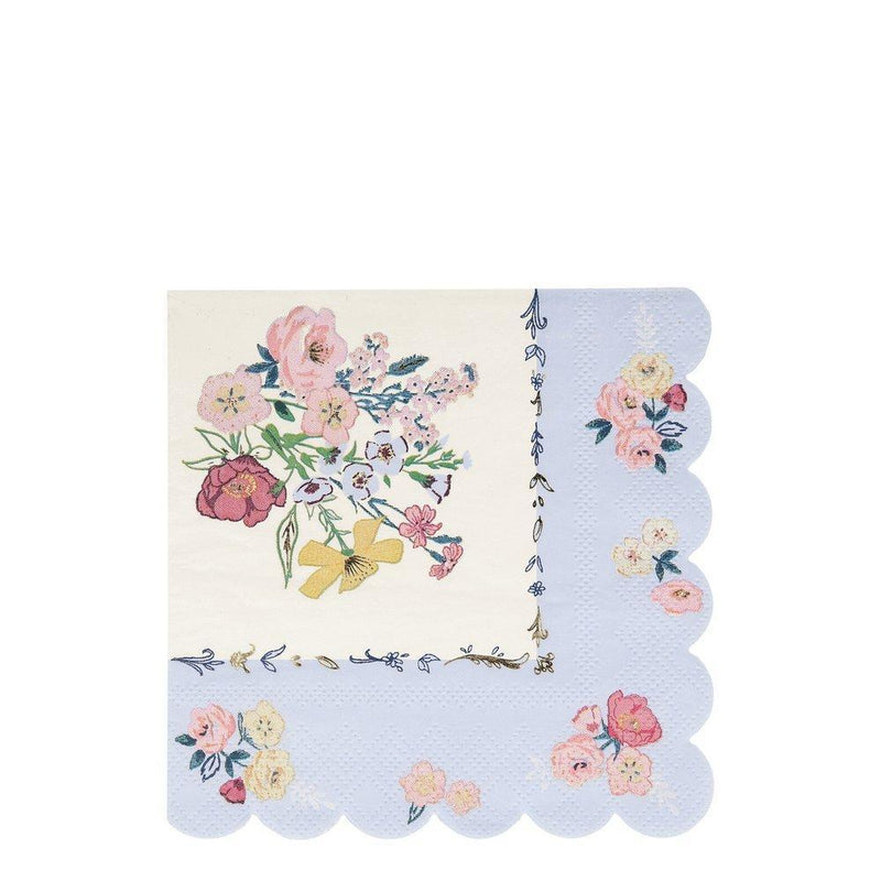 Meri Meri English Garden Paper Napkins - Large | Putti Party Supplies
