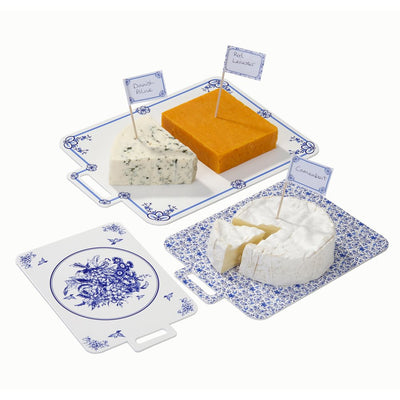 Party Porcelain Blue Cheese Boards, TT-Talking Tables, Putti Fine Furnishings