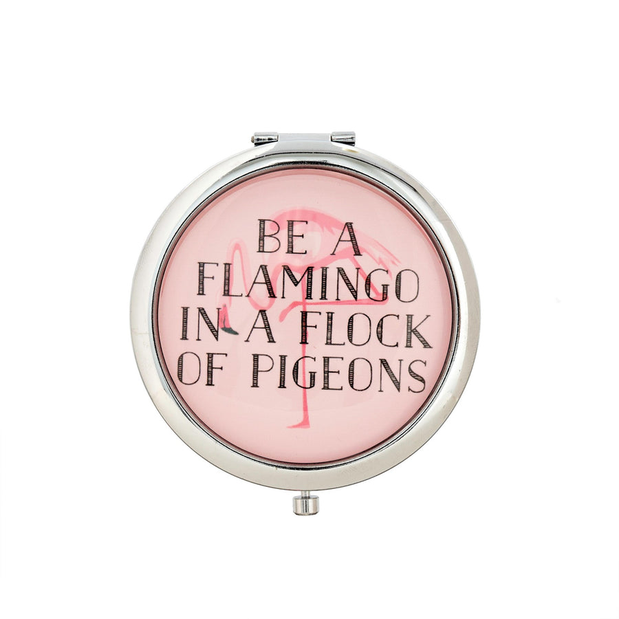 """Be a Flamingo"" Compact"