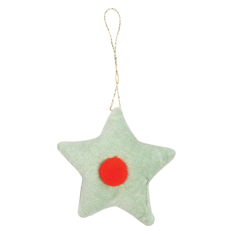 Meri Meri Velvet Star Decoration