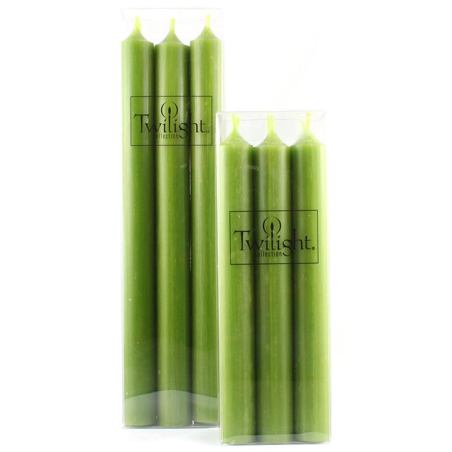 Twilight Taper Candles - Olive