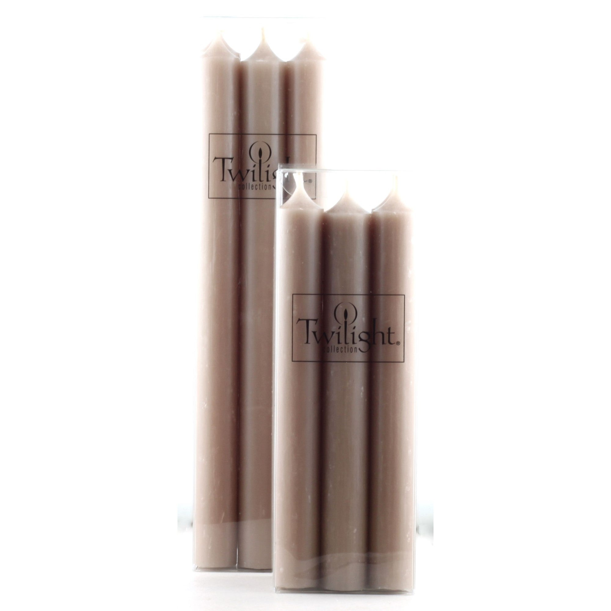 Twilight Taper Candles - Sand