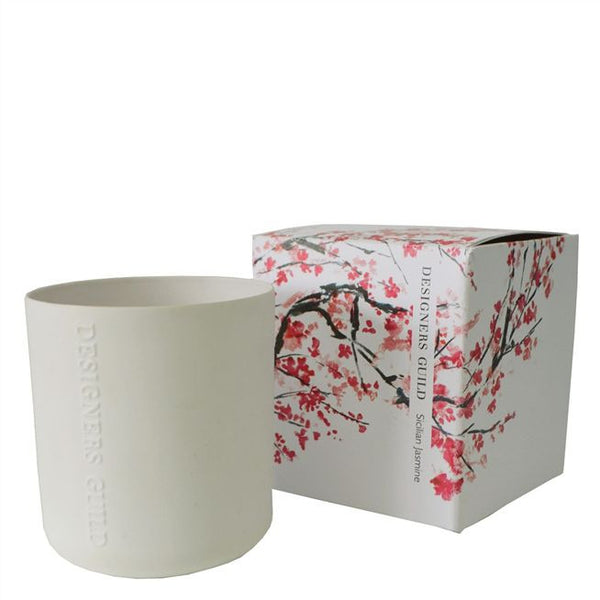 Designers Guild Candle - Sicilian Jasmine-Home Fragrance-DG-Designers Guild-Putti Fine Furnishings