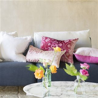 Designers Guild Marquisette Cushion - Pale Rose -  Soft Furnishings - DG-Designers Guild - Putti Fine Furnishings Toronto Canada - 3