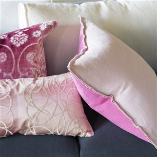 Designers Guild Marquisette Cushion - Pale Rose -  Soft Furnishings - DG-Designers Guild - Putti Fine Furnishings Toronto Canada - 5
