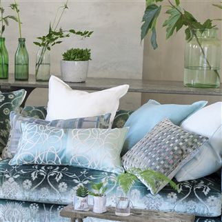 Designers Guild Marquisette Cushion - Celadon -  Soft Furnishings - DG-Designers Guild - Putti Fine Furnishings Toronto Canada - 4
