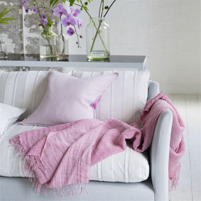 Designers Guild Brera Lino Rose Decorative Pillow, DG-Designers Guild, Putti Fine Furnishings