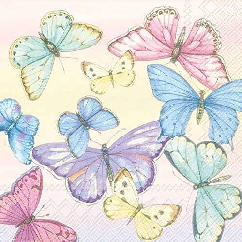Lunch Paper Napkin - Flowery Dance, IHR-Ideal Home Range - Carsim, Putti Fine Furnishings