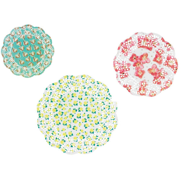 Pastries and Pearls Doilies-Party Supplies-TT-Talking Tables-Putti Fine Furnishings