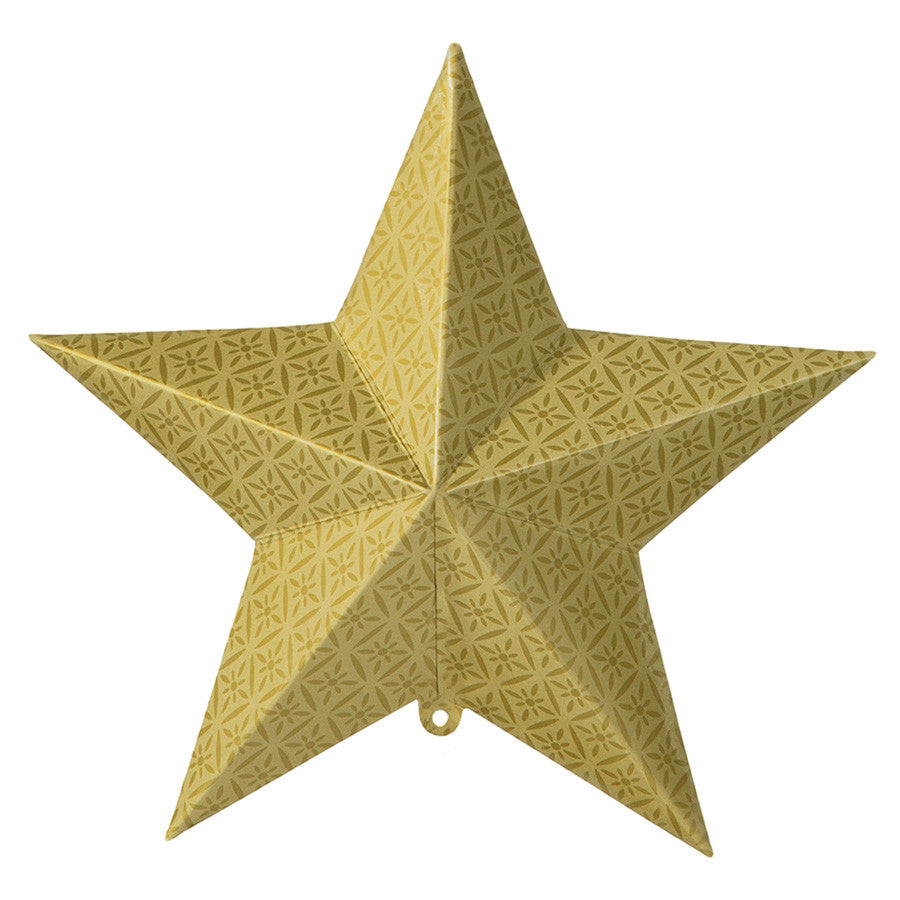 Party Porcelain Gold Hanging Star Decorations -  Paper Plates - Talking Tables - Putti Fine Furnishings Toronto Canada - 2