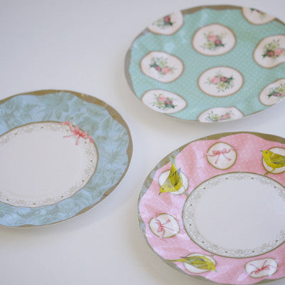 Frills and Frosting Small Plates-Paper Plates-TT-Talking Tables-Putti Fine Furnishings