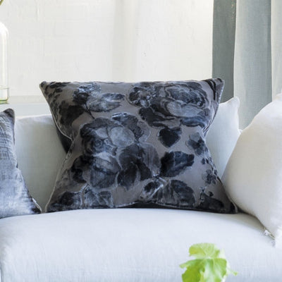 Designers Guild Mathura Graphite Decorative Pillow, DG-Designers Guild, Putti Fine Furnishings