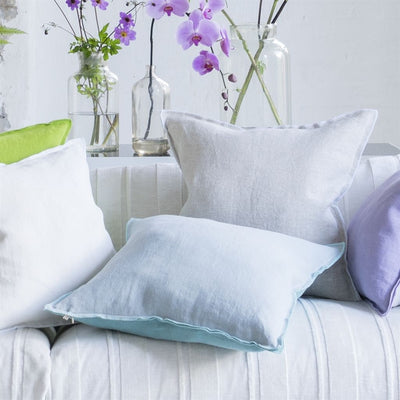 Designers Guild Brera Lino Celadon Decorative Pillow, DG-Designers Guild, Putti Fine Furnishings