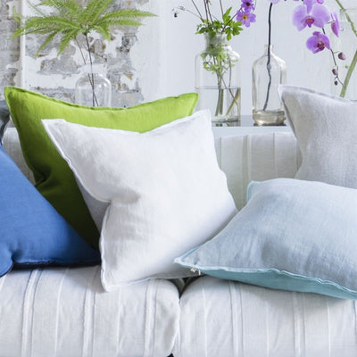 Designers Guild Brera Lino Alabaster Decorative Pillow, DG-Designers Guild, Putti Fine Furnishings