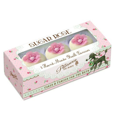 """Patisseries de Bain"" Sugar Rose Bath Fancies, Rose & Co, Putti Fine Furnishings"