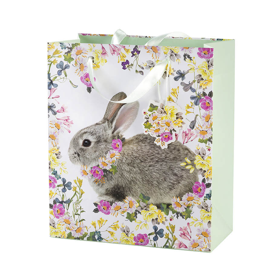 Truly Bunny Gift Bag - Medium -  Easter - Putti Fine Furnishings - Putti Fine Furnishings Toronto Canada - 1