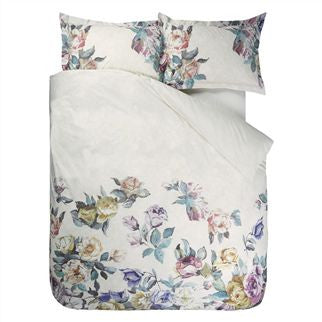 "Designers Guild Viola Heather Bedding - Queen Set - Duvet  Cover and 2 shams  88"" x 96"" ( 224 x 244 cm ) Bedding - Designers Guild - Putti Fine Furnishings Toronto Canada - 2"