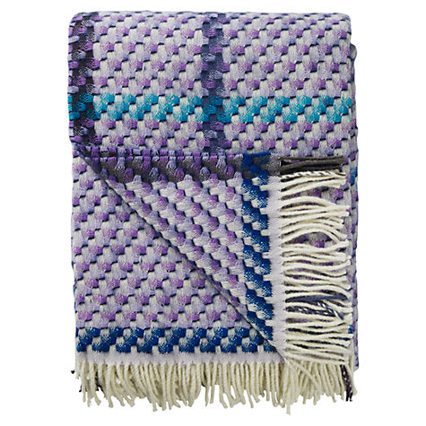 Designers Guild Kyaari Amethyst Throw