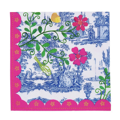 "Bombay Duck ""My Secret Garden"" - Napkin, Bombay Duck London, Putti Fine Furnishings"