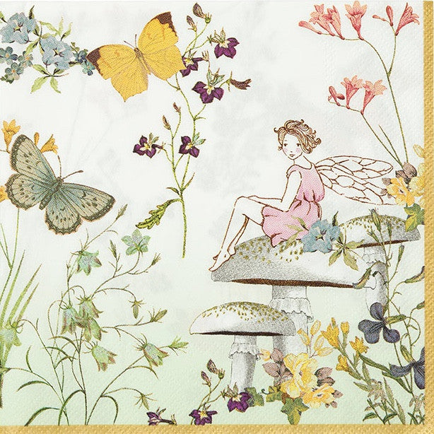 """Truly Fairy"" Paper Napkins, TT-Talking Tables, Putti Fine Furnishings"