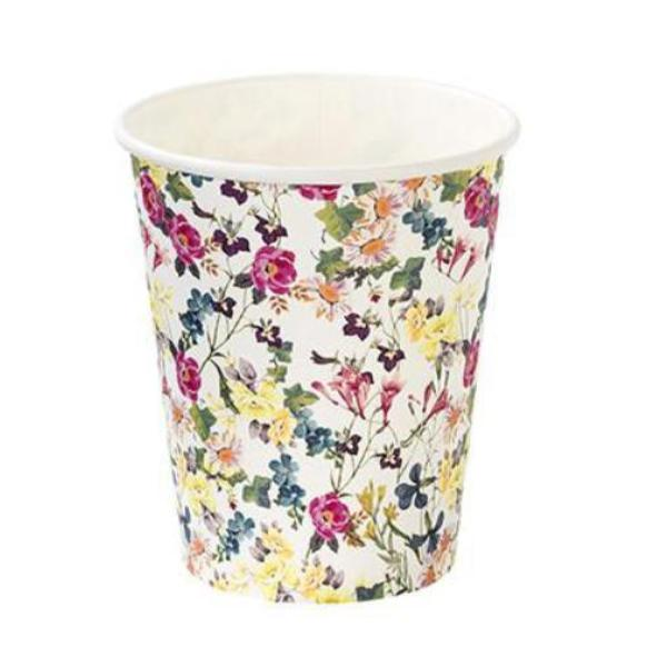 Truly Floral Paper Cups -  Easter - Putti Fine Furnishings - Putti Fine Furnishings Toronto Canada - 1