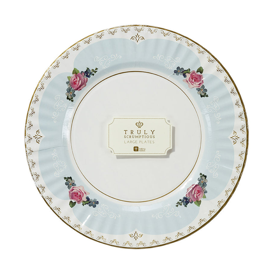 Truly Scrumptious Pretty Large Paper Plates