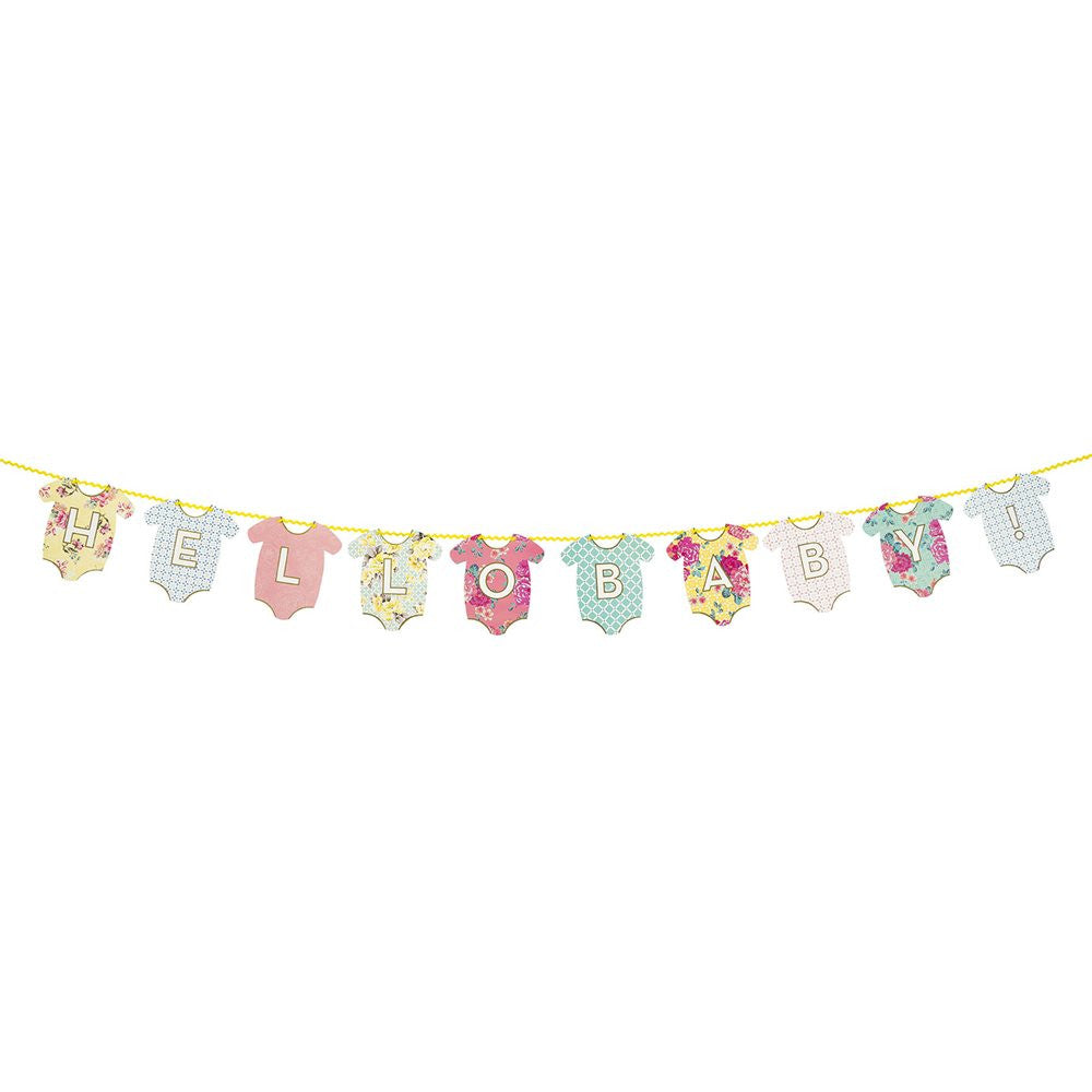 Truly Baby Garland -  Party Supplies - Talking Tables - Putti Fine Furnishings Toronto Canada - 1