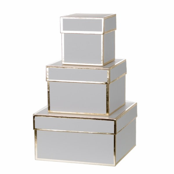 White and Gold Gift Boxes, CB-Creative Bag, Putti Fine Furnishings