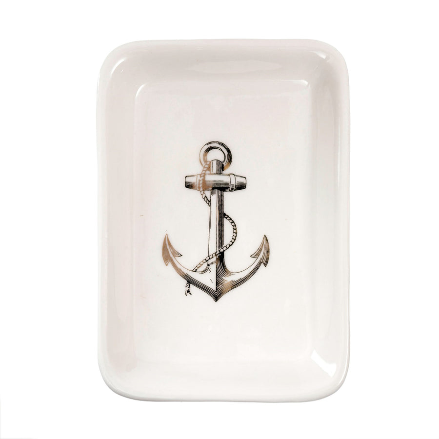 """Anchor"" Porcelain Dish"