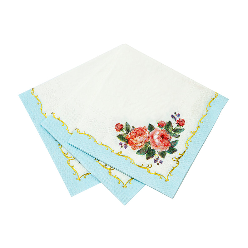 Truly Chintz Paper Napkins - Beverage