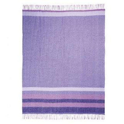 Designers Guild Fortrose Violet Throw, DG-Designers Guild, Putti Fine Furnishings