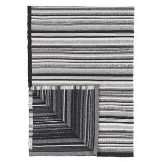 Designers Guild Turrill Charcoal Throw