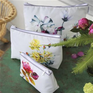 Designers Guild Couture Rose Medium Toiletry Bag -  Toiletry Bags - Designers Guild - Putti Fine Furnishings Toronto Canada - 2