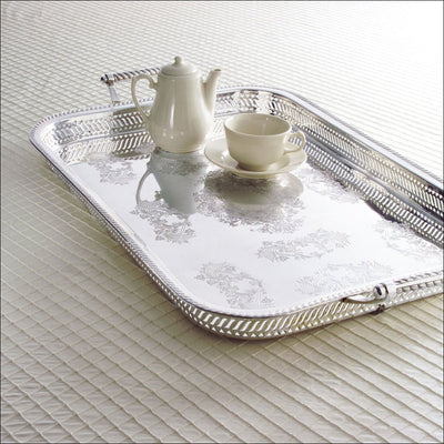 """Rothschild"" Large Silver Tray"