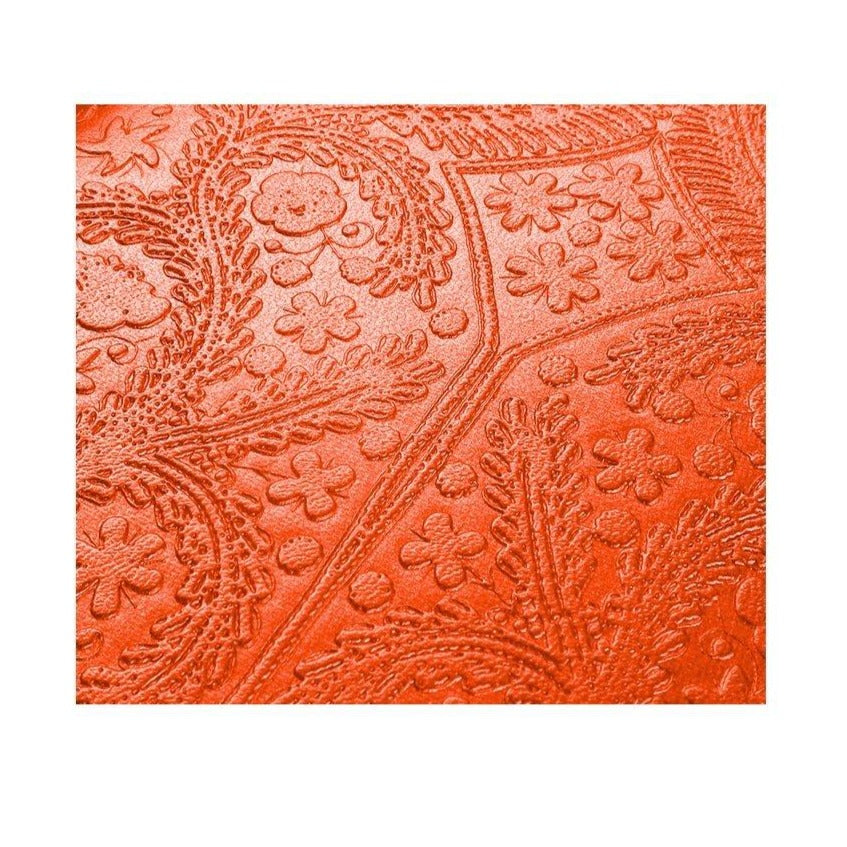 Christian Lacroix Embossed Paseo Notebook - Scarlet
