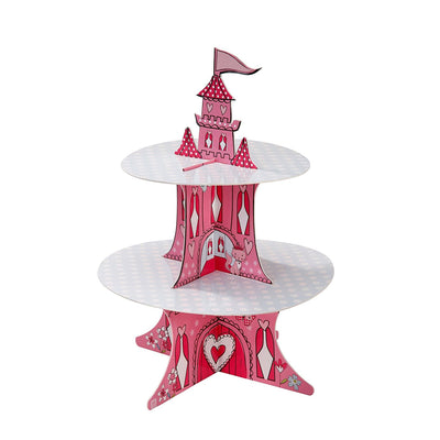"""Princess"" Two Tier Cake Stand"