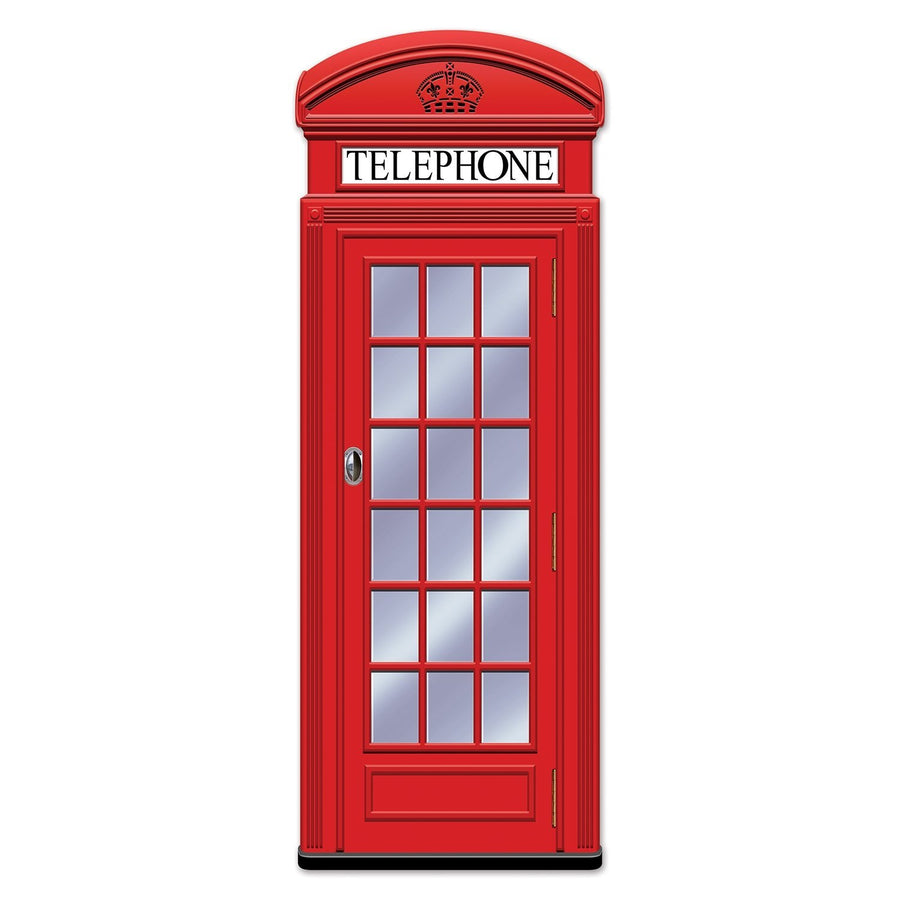 British Phone Booth Party Prop