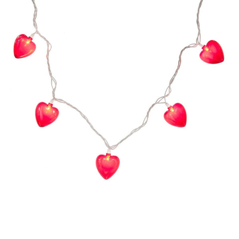 Red Heart 10L String Lights -  Accessories - Midwest - Putti Fine Furnishings Toronto Canada