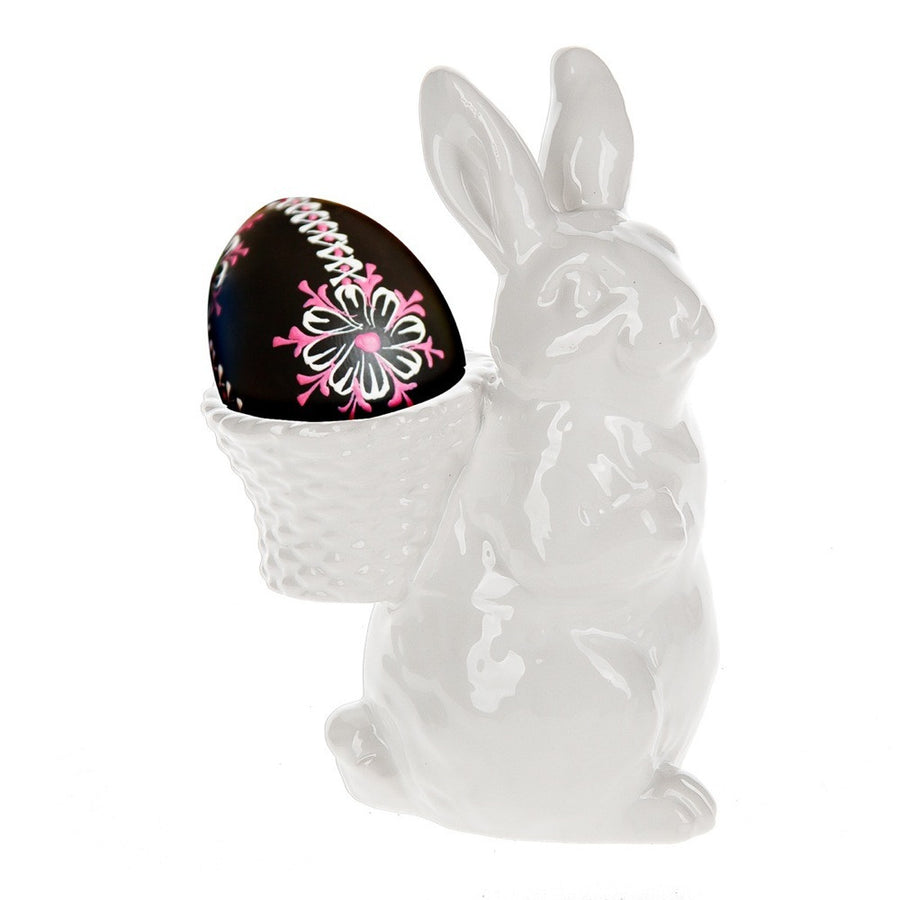 White Bunny Egg Cup -  Easter - Midwest - Putti Fine Furnishings Toronto Canada