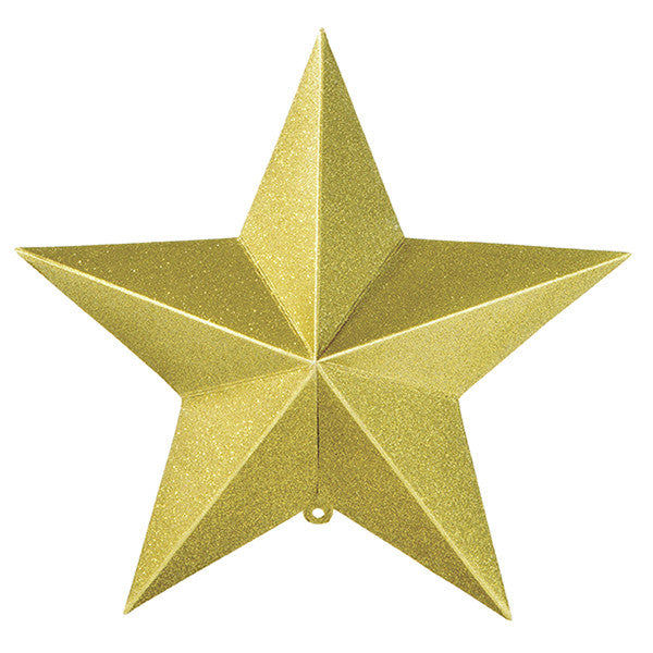 Party Porcelain Gold Hanging Star Decorations -  Paper Plates - Talking Tables - Putti Fine Furnishings Toronto Canada - 3