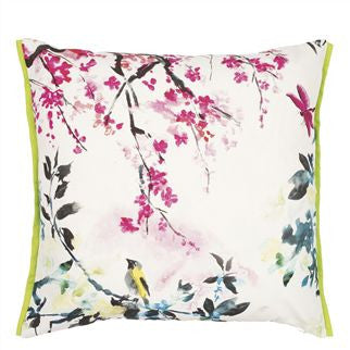 Designers Guild Chinoserie Peony Cushion, DG-Designers Guild, Putti Fine Furnishings