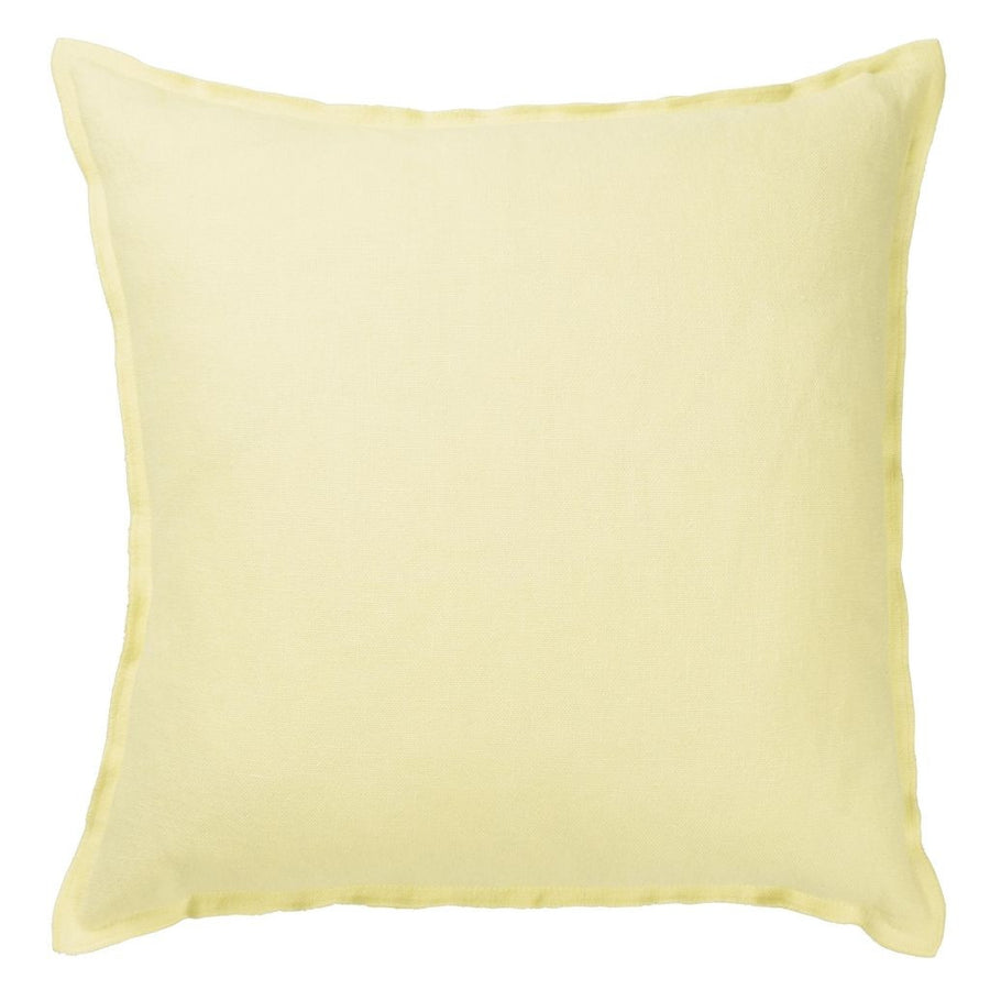Designers Guild Brera Lino Primrose Decorative Pillow