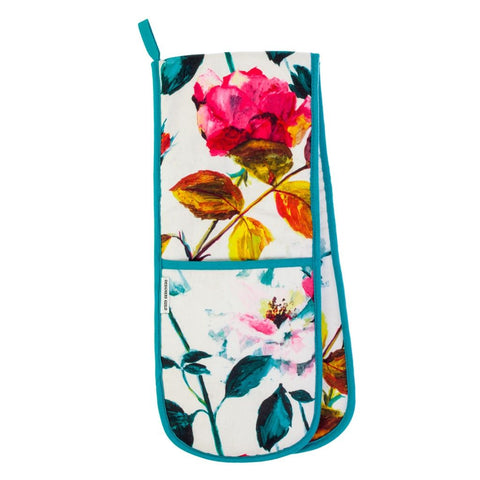 Couture Rose Fuchsia Double Oven Glove