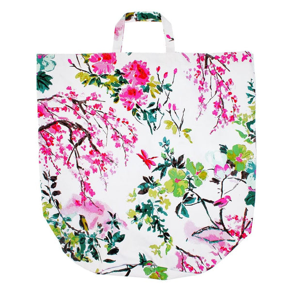 Chinoiserie Peony laundry Bag