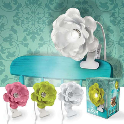 """Bloom"" Clip on Flower Light by Fred, Fred & Friends, Putti Fine Furnishings"