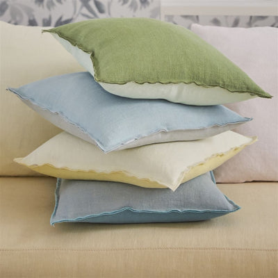 Designers Guild Brera Lino Olive Decorative Pilllow, DG-Designers Guild, Putti Fine Furnishings