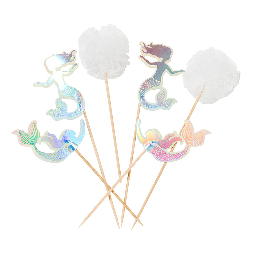 """We Heart Mermaids"" Cake Toppers, TT-Talking Tables, Putti Fine Furnishings"