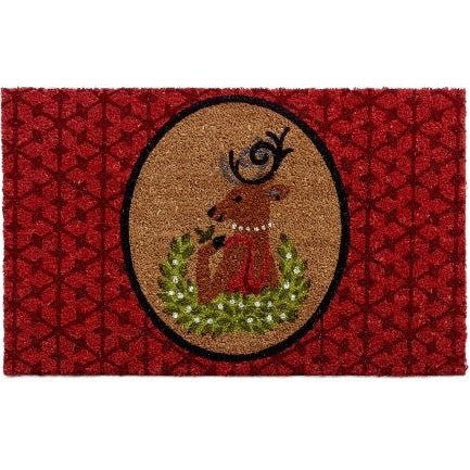Mrs Deer Door Mat