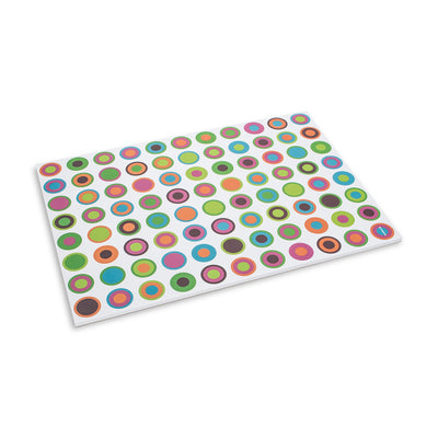 "Colouful ""Fresh Dots"" Paper Placemats, AC-Abbott Collection, Putti Fine Furnishings"